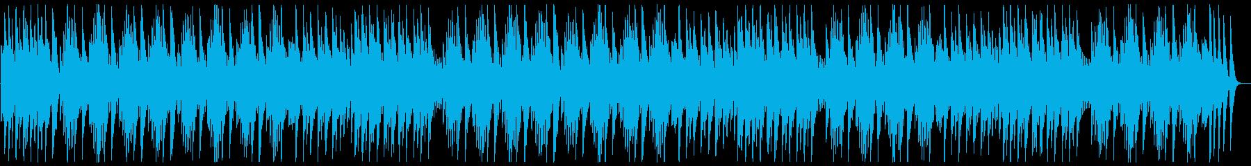 癒しが必要な空間に合う曲の再生済みの波形