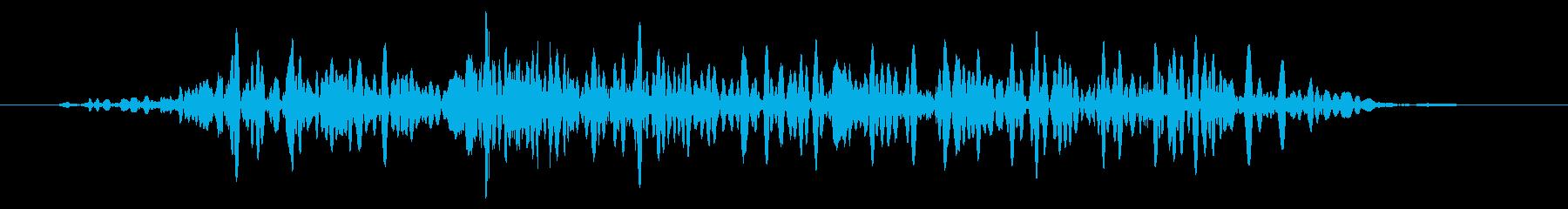 カエル モンスター キャラタップ 悲しみの再生済みの波形