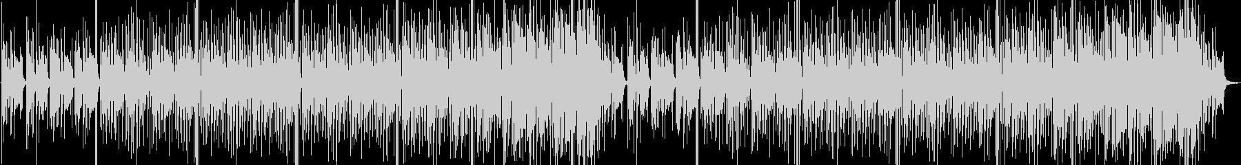 素朴でほのぼの系な配信BGM向けポップスの未再生の波形