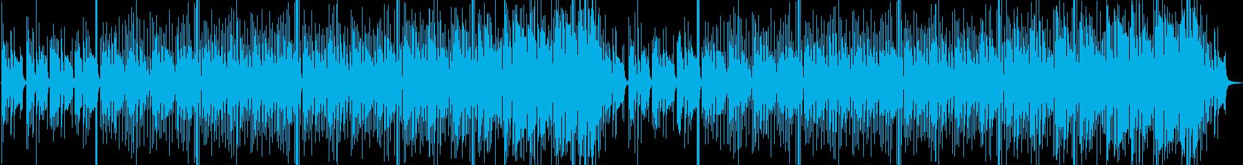素朴でほのぼの系な配信BGM向けポップスの再生済みの波形