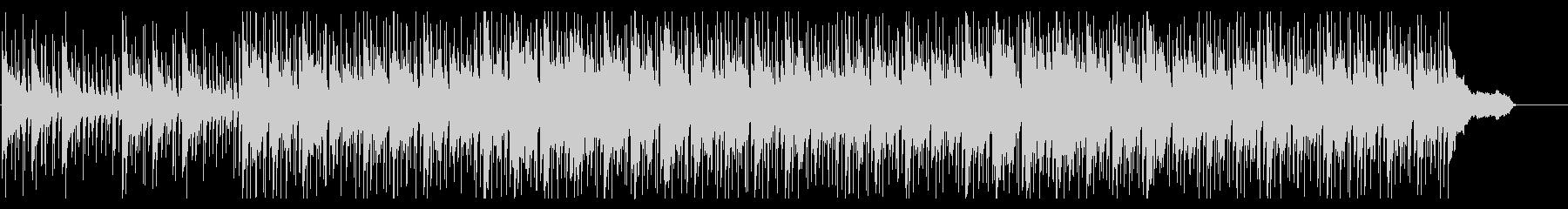 落ち着いたおだやかなコーポレートBGMの未再生の波形