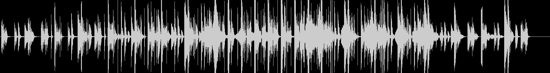 ピアノを主旋律とした透明感あるエレクトロの未再生の波形