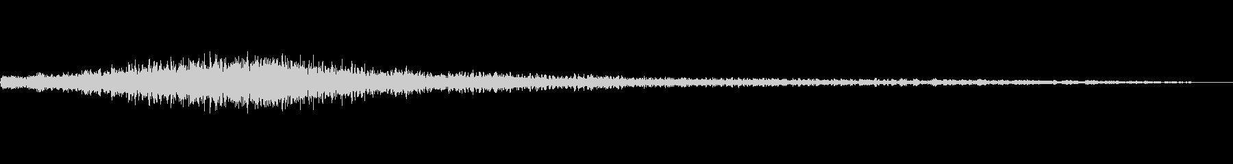 キラキラ残念登場A02の未再生の波形