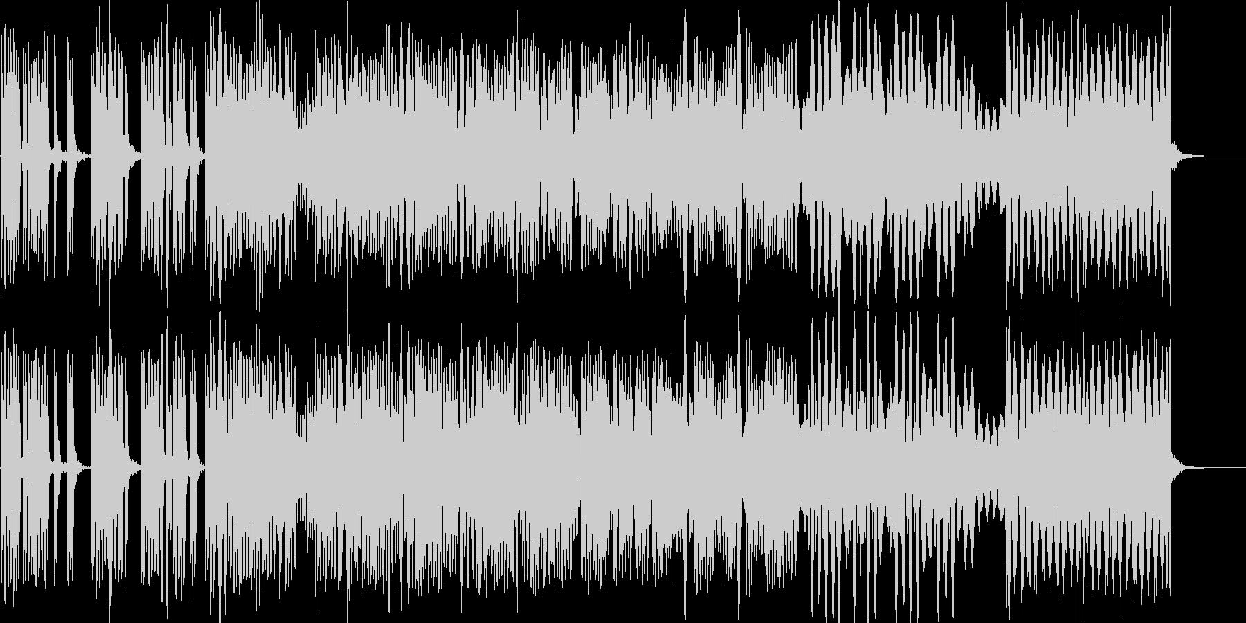 動きのある機械音の未再生の波形