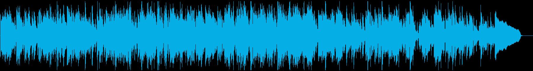 生演奏ソプラノサックスのお洒落ジャズの再生済みの波形