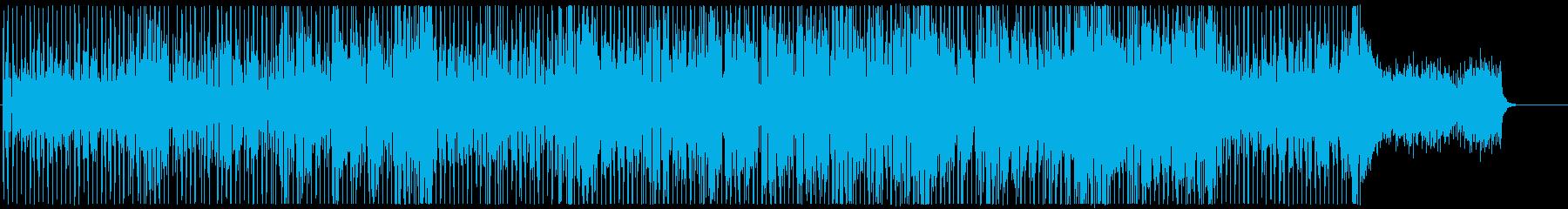 ふたりの再生済みの波形