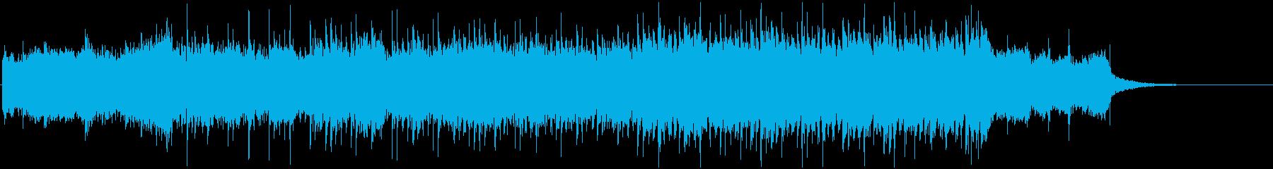 和風の神秘的なミドルテンポ曲ですの再生済みの波形