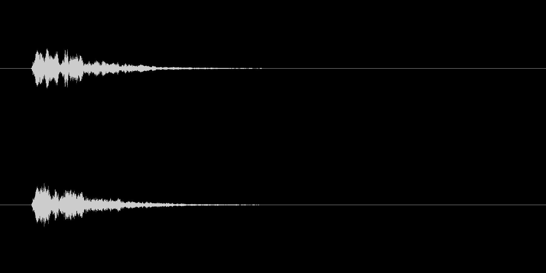 【サイバー17-1】の未再生の波形