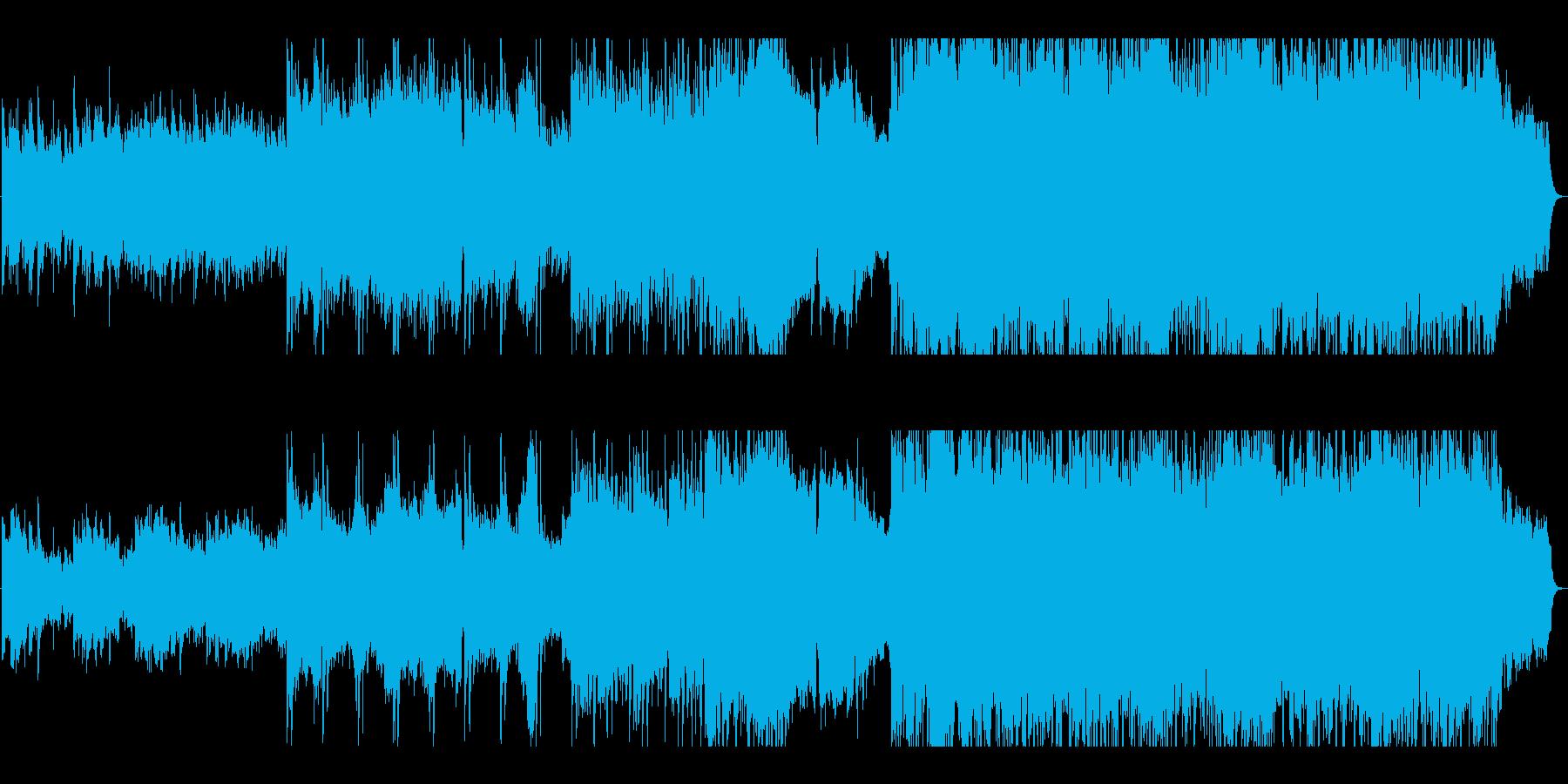 冬の温度を感じるアコギとピアノのバラードの再生済みの波形