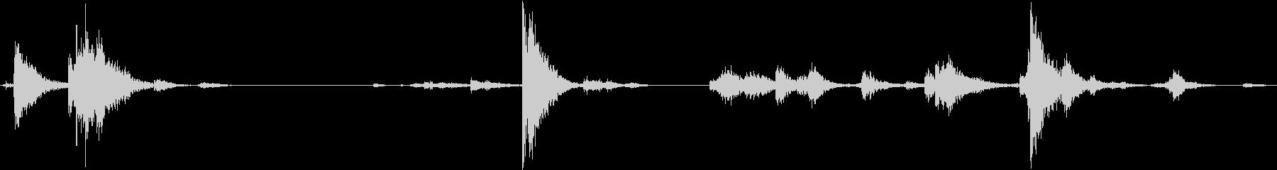 【生録音】装備品の音 金属 武器 16の未再生の波形