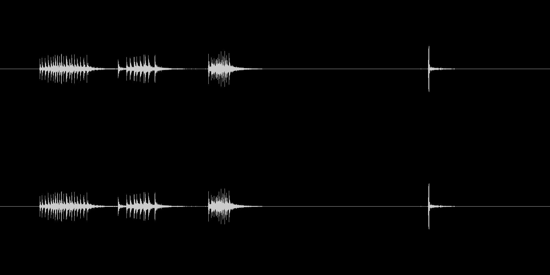 【セロテープ01-2(引く・切る)】の未再生の波形