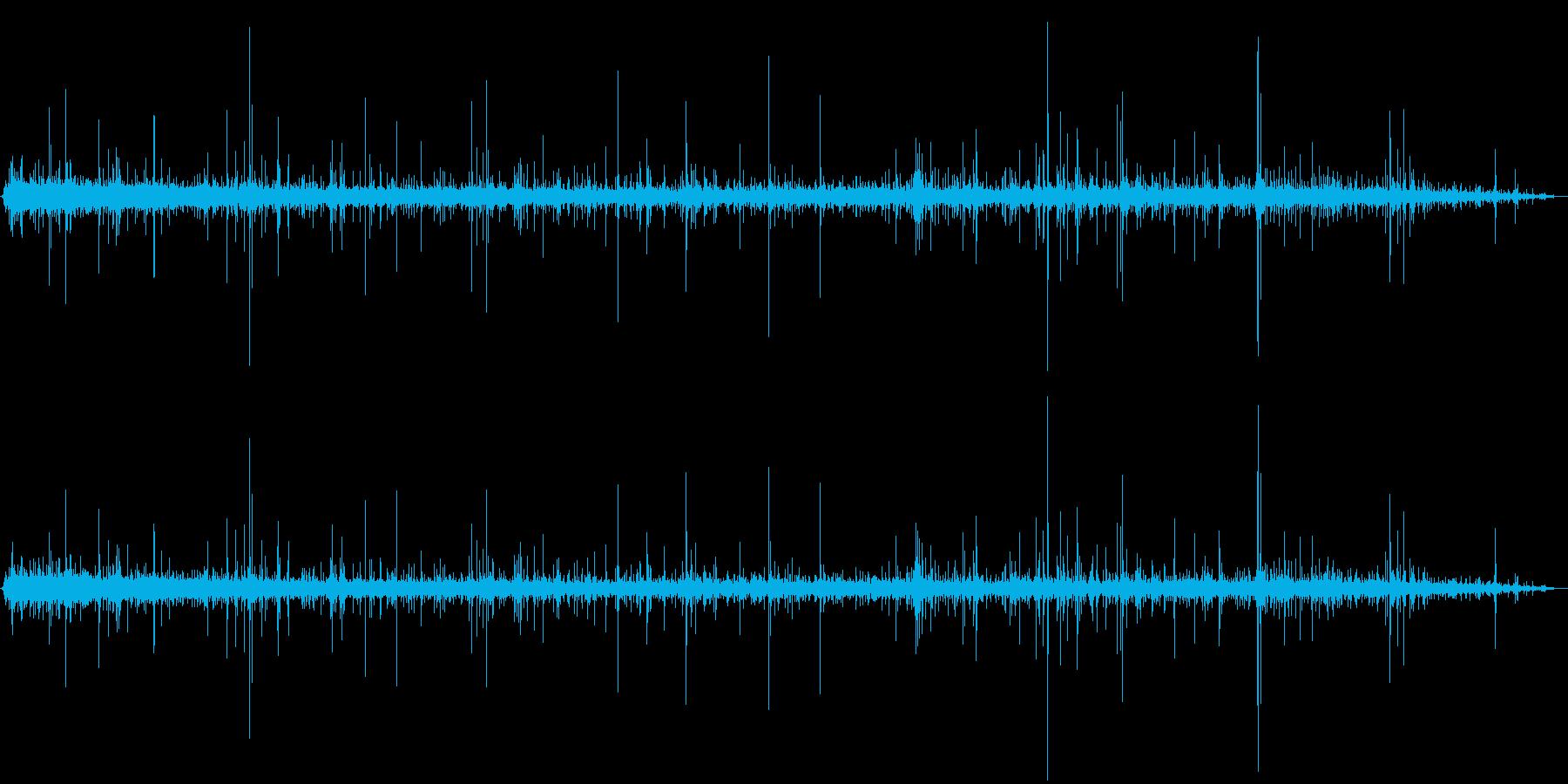 ジュジュジュ…+パチパチ… (焼く)の再生済みの波形