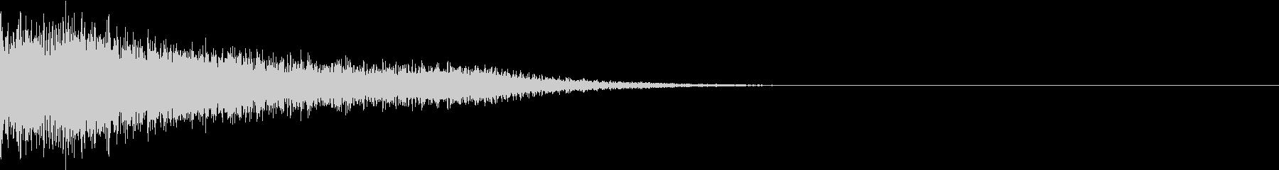 衝撃 金属音 恐怖 震撼 ホラー 02の未再生の波形