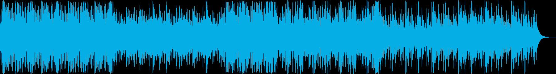 和風のゆったりとした琴と笛(ver2)の再生済みの波形