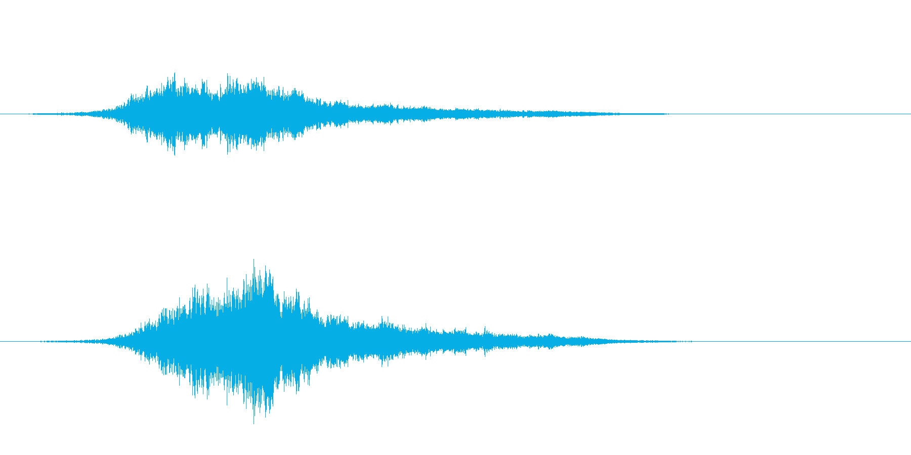 宇宙船通過フライバイ-高速SF-テイク2の再生済みの波形