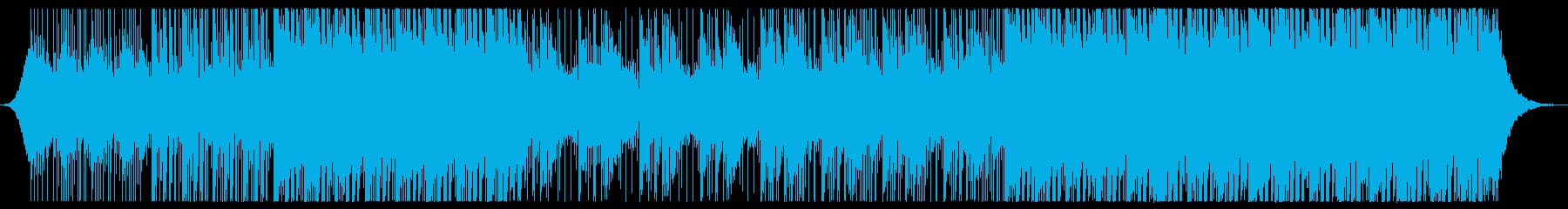 アンビエントコーポレートトラックの再生済みの波形