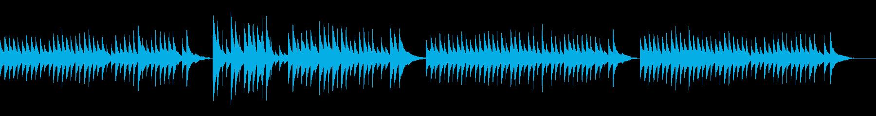 クラシックギターの調べ~ラグリマ~の再生済みの波形