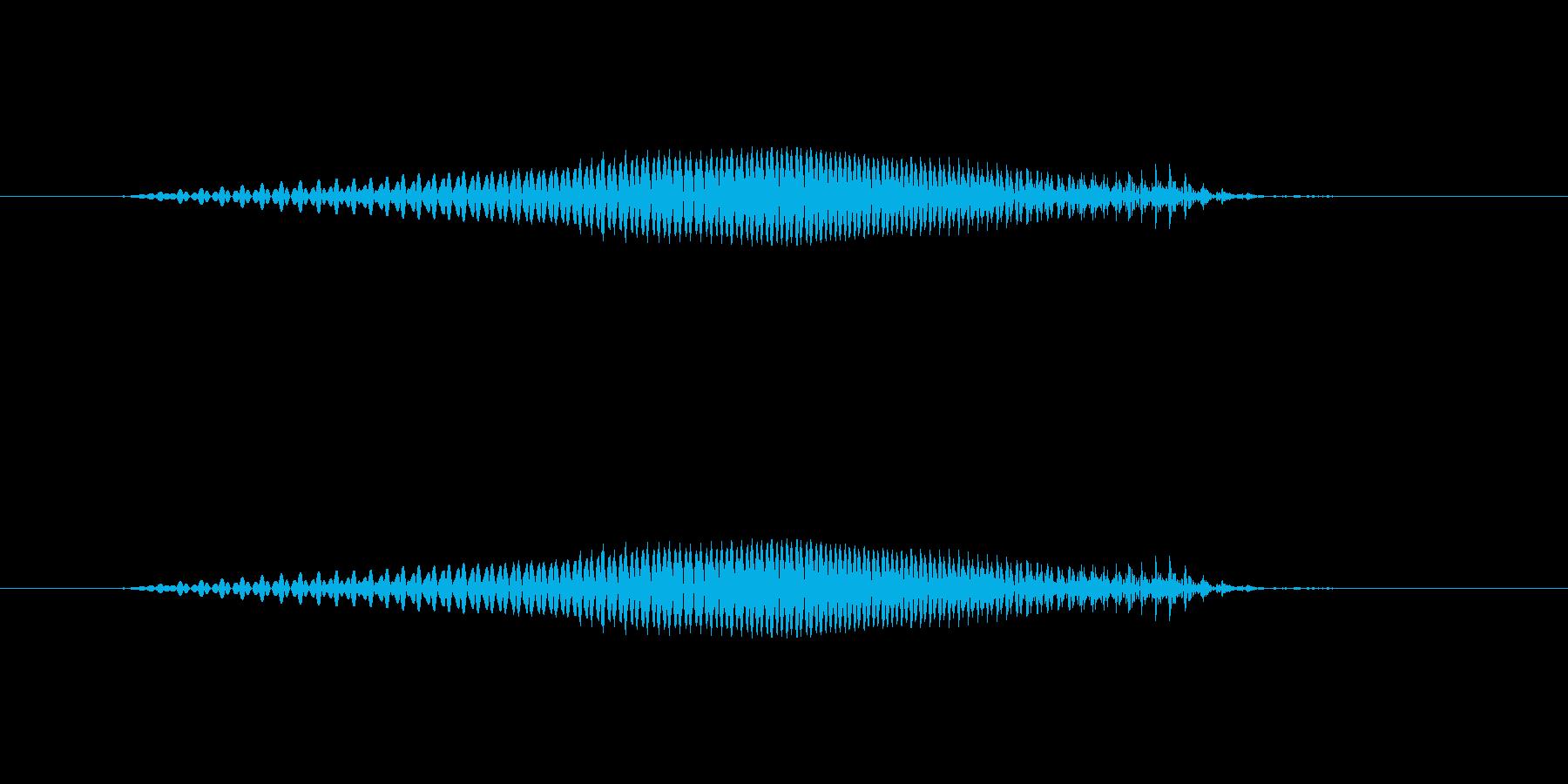 数字の2(に)-明るいトーンお兄さの再生済みの波形
