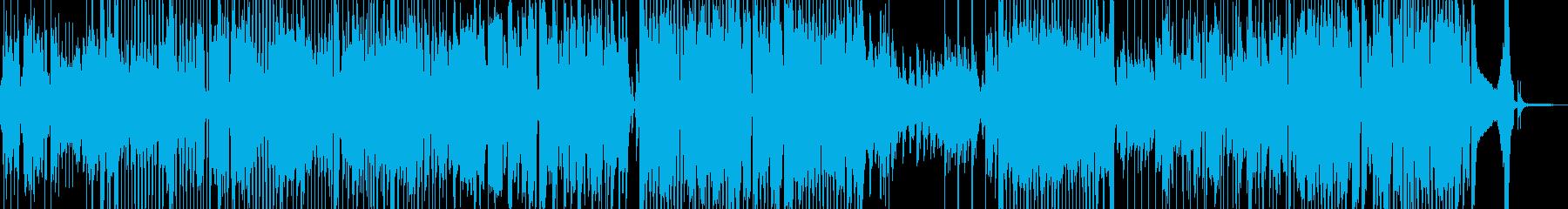 明るく前向きな気持ちになるジャズ 短尺の再生済みの波形
