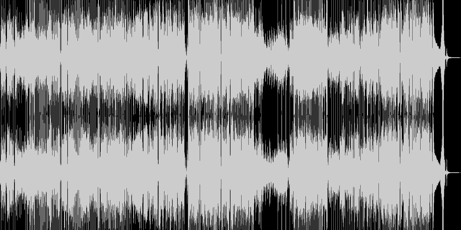 前向きで明るい気持ちになるジャズ 短尺の未再生の波形