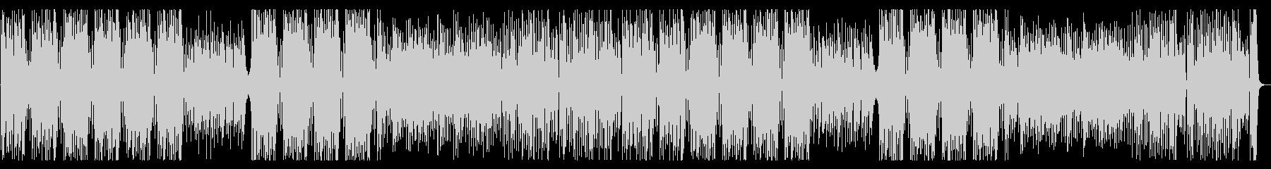 みずみずしい ジャズ ウッドベースリフの未再生の波形
