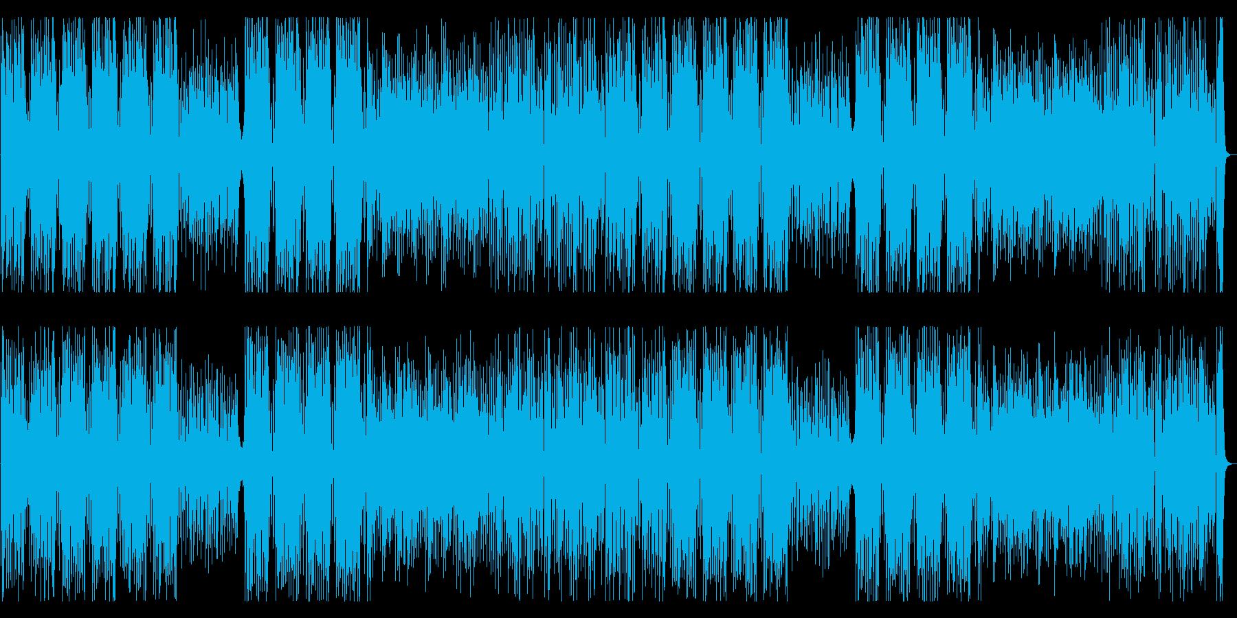 みずみずしい ジャズ ウッドベースリフの再生済みの波形