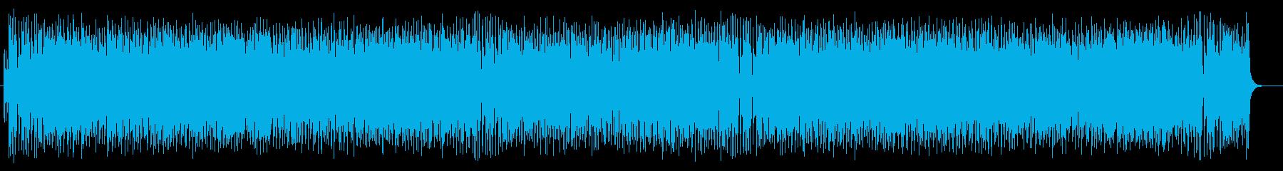 コミカルで和風の弦楽器シンセサウンドの再生済みの波形