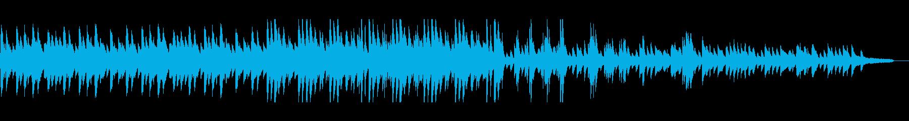 アンニュイでやや暖かみのあるピアノソロ の再生済みの波形