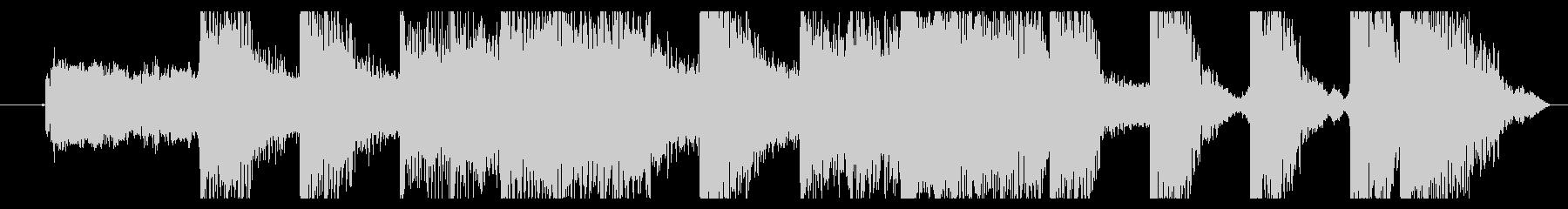 ロックギターでインパクトのあるジングル②の未再生の波形