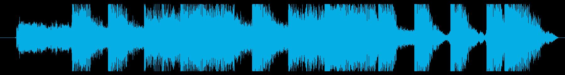 ロックギターでインパクトのあるジングル②の再生済みの波形