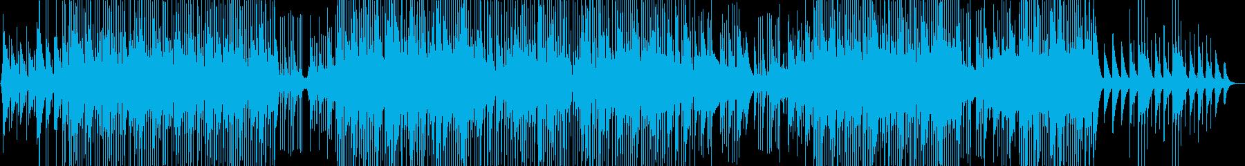 明るいシンセポップスの再生済みの波形