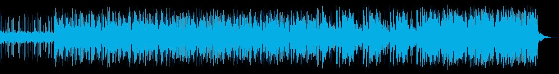 焦燥感を煽られるような曲の再生済みの波形