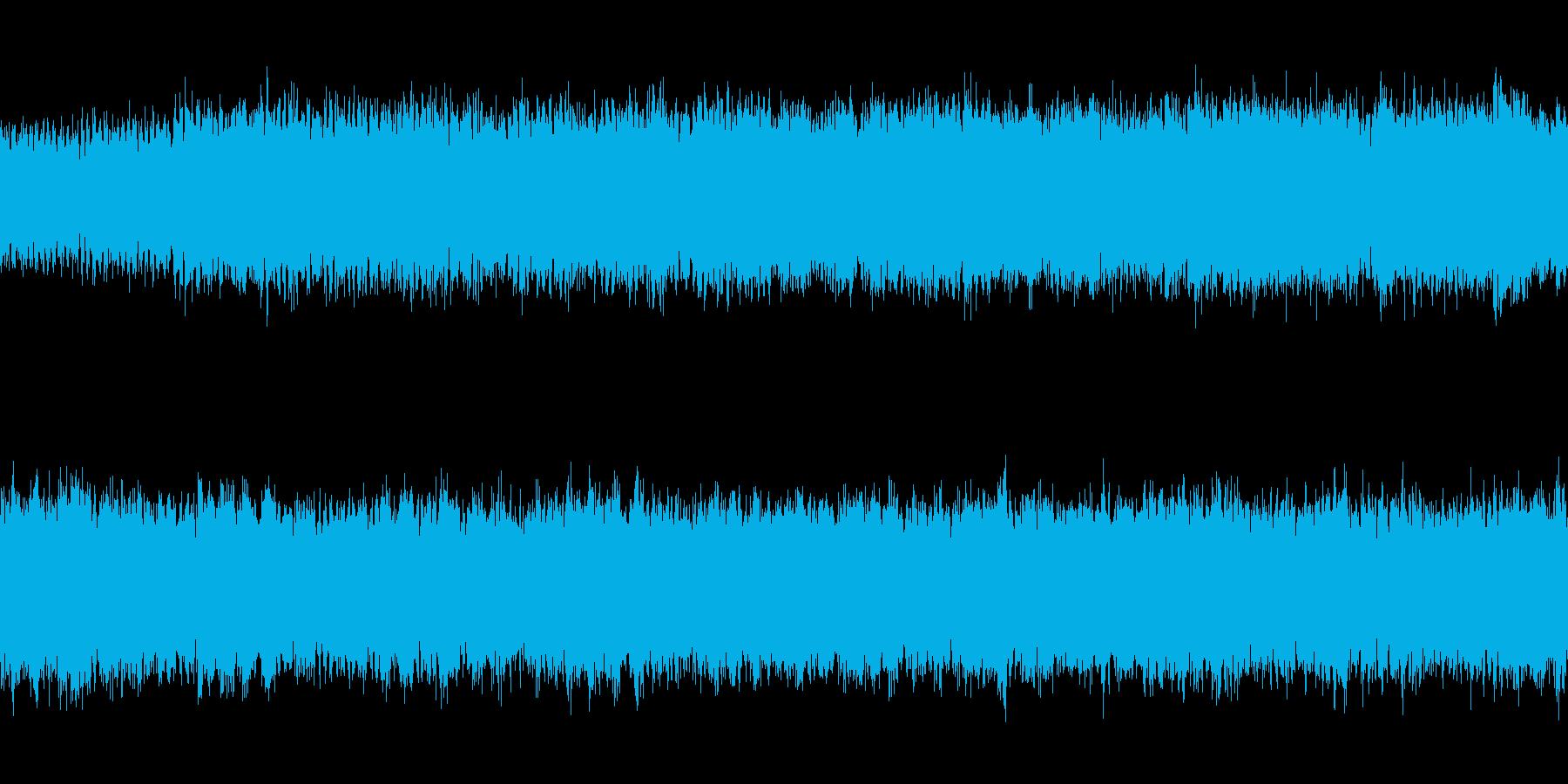 ループ 和風オーケストラのバトルBGMの再生済みの波形