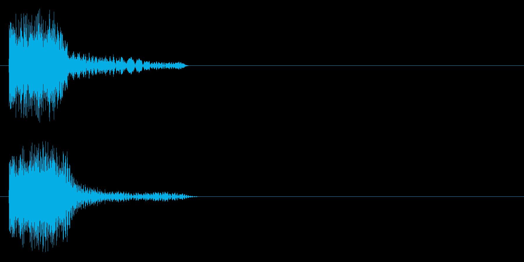ピュォンーの再生済みの波形