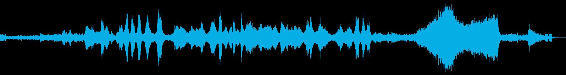 リモート制御130Mmマイクロドロ...の再生済みの波形