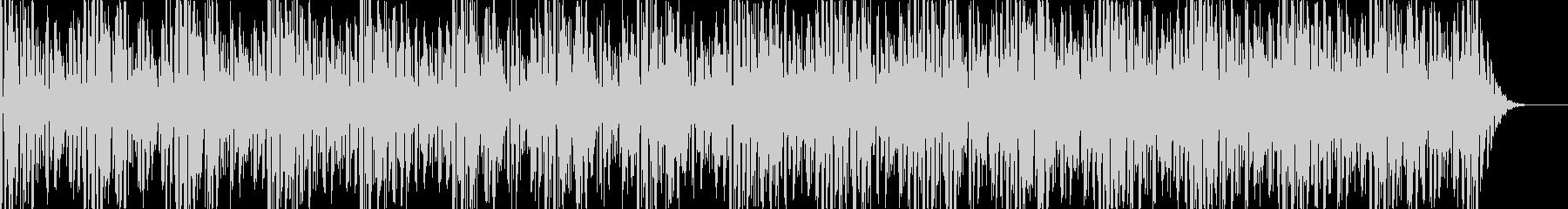 実用的シンセの無機質アンビエントBGM8の未再生の波形