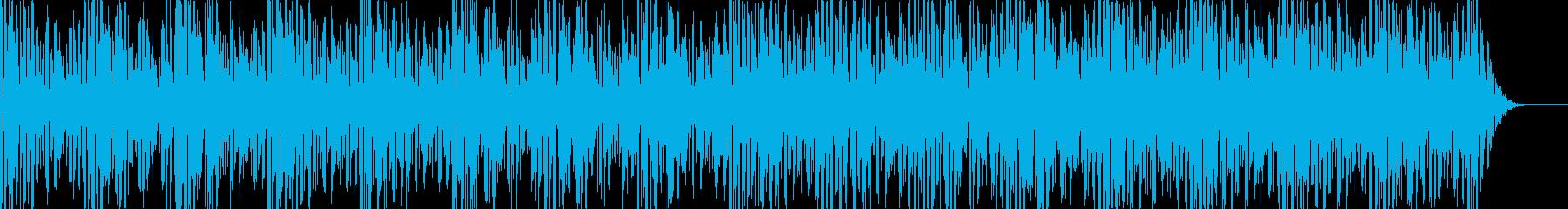 実用的シンセの無機質アンビエントBGM8の再生済みの波形