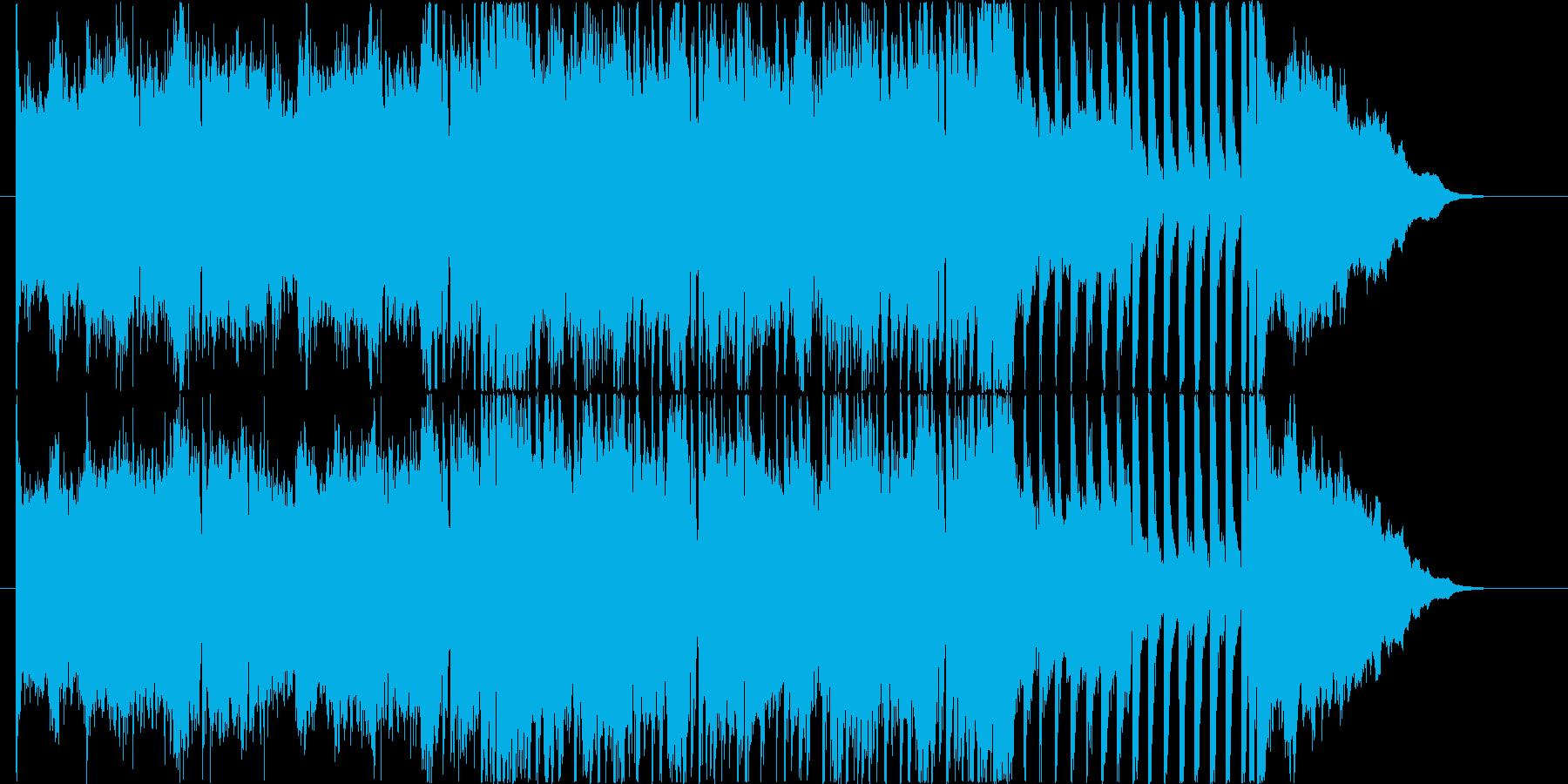 映画 ゲーム トレーラー用の再生済みの波形