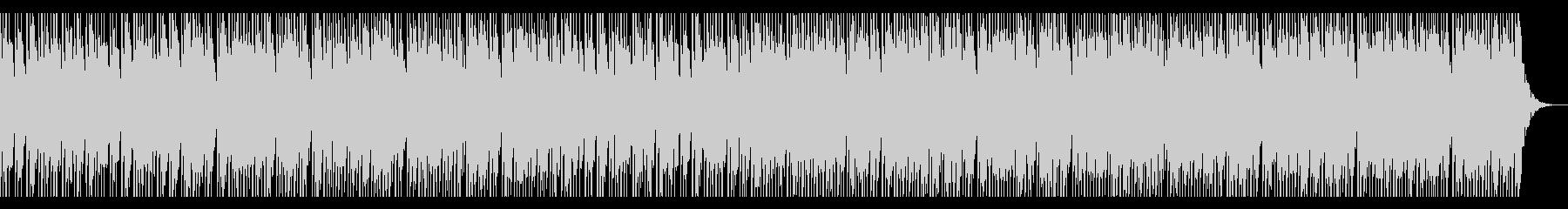 怒れる攻撃的なソロドラムの未再生の波形