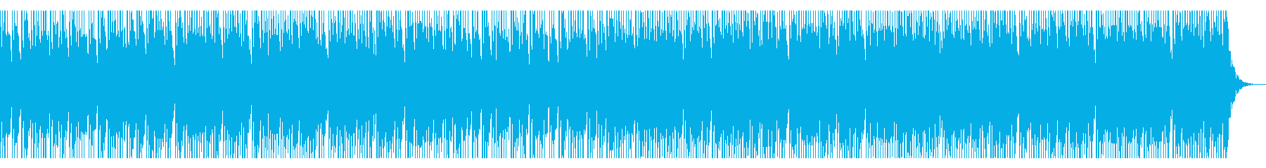 怒れる攻撃的なソロドラムの再生済みの波形