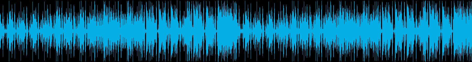 【YouTube】けだるげな日常・レゲエの再生済みの波形