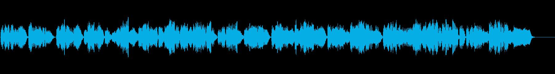シューマンの歌曲をヴァイオリンでの再生済みの波形