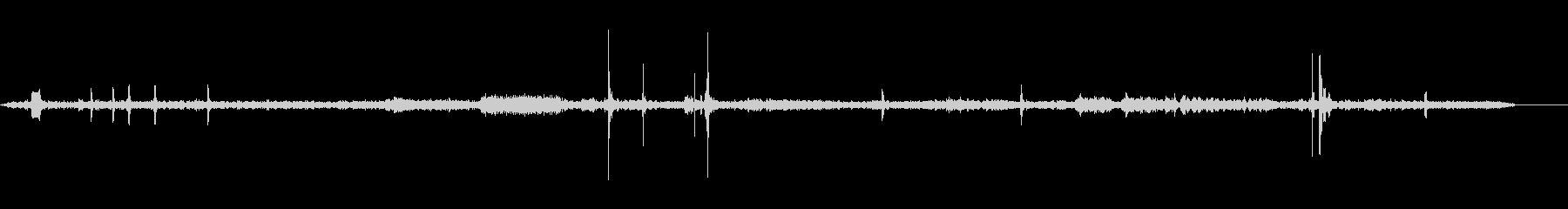 レジ-内部-シーケンスの未再生の波形