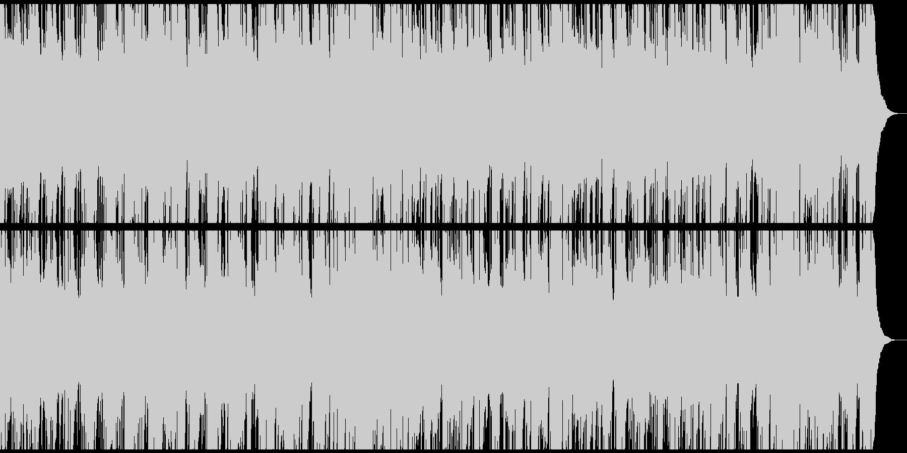 ノスタルジックなマンドリン生演奏のワルツの未再生の波形