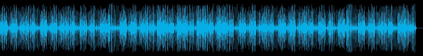 可愛い動物や作業動画に合う木琴の再生済みの波形