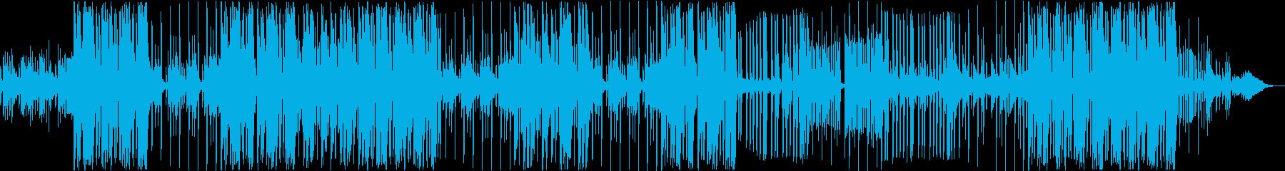 妖しげなCHILL系HIPHOPの再生済みの波形