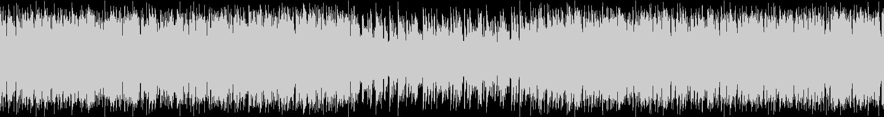ロックオルガンが印象的なガレージロックの未再生の波形