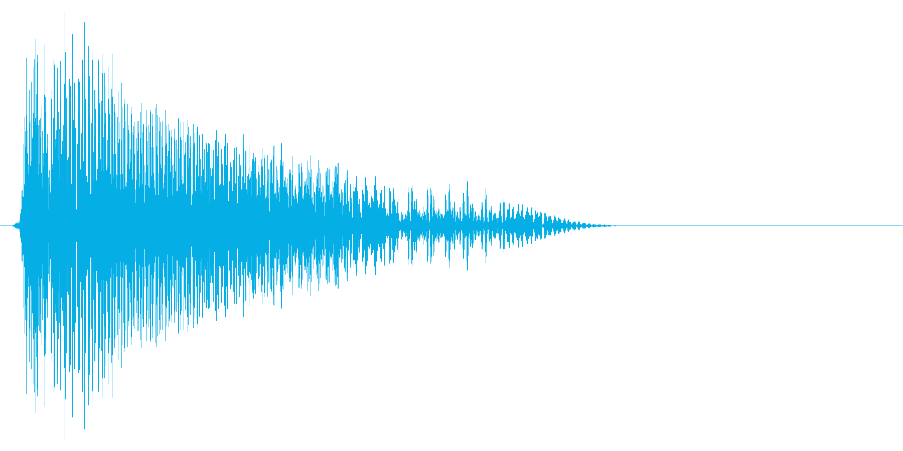 ゲーム掛け声ゾンビ1アウー1の再生済みの波形