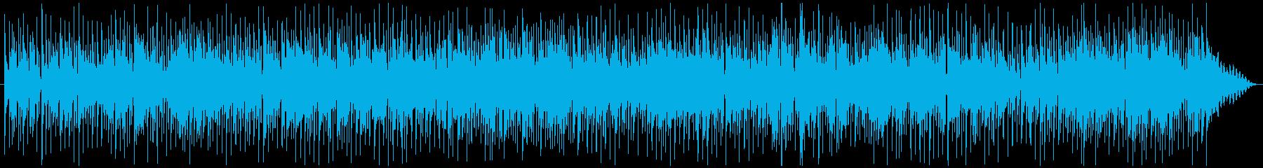 お洒落な夜に似合うギターソロBGMの再生済みの波形