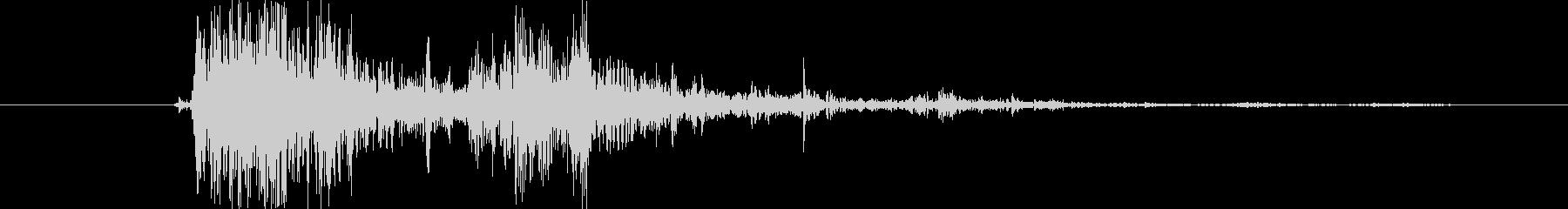 ブレーク ウッドスモール04の未再生の波形